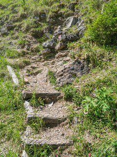 Sedimente der Perm-Trias-Grenze vor 252 Millionen Jahren