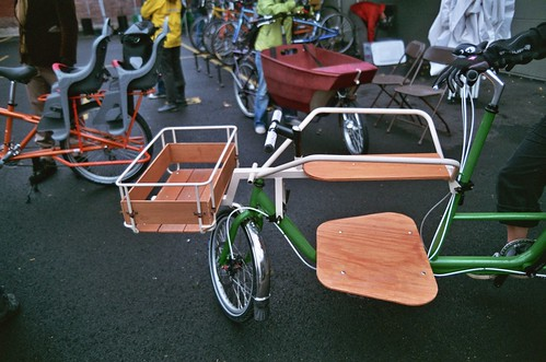 cargo bike seen at oregon manifest family day