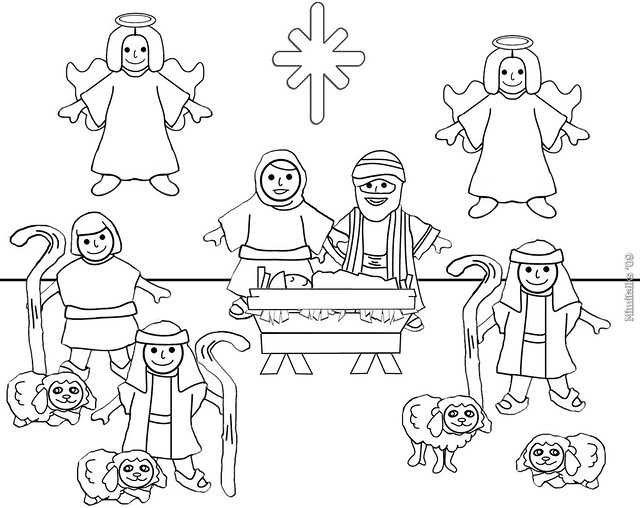 Search results for stable animals coloring page for Nativity animals coloring pages