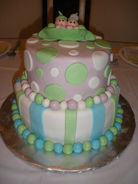 Cake Images For Twins : Baby Shower Cakes: Baby Shower Cakes Twins
