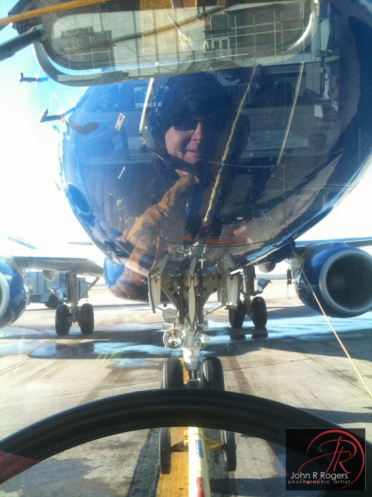 Pushback Self Portrait