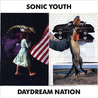 "Music Inspired Art - Sonic Youth ""Daydream Nation"" by Sam Longworth"
