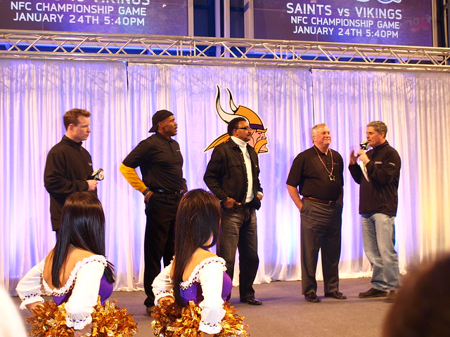 Vikings Rally at MOA 25