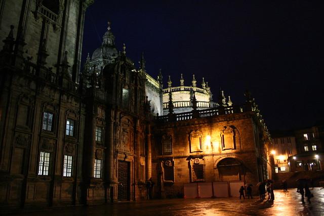 Fachada Este de la Catedral de Santiago