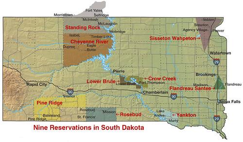 Reservations South Dakota