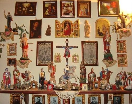 Capilla de Reliquias del Convento Recoleta Franciscano de la Cruz - ala sur-oeste
