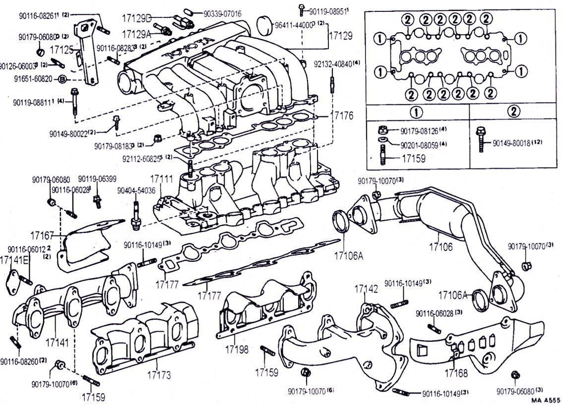 22re Wiring Harness Removal : Toyota runner intake manifold diagram get free