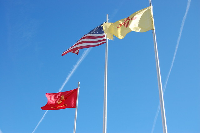 Flags in Albuquerque
