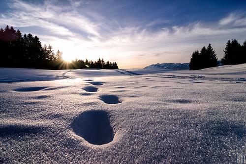 blue winter sunset mountain snow alps cold backlight landscape geotagged österreich steps tracks tal aut vorarlberg übersaxen pprowinner geo:lat=4725011000 geo:lon=969548342