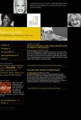 Balancing Acts Website (Website)
