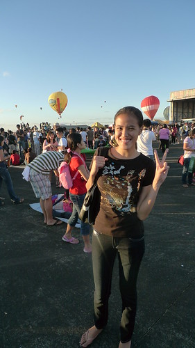 Me at the Hot Air Balloon Festival in Clark, Pampanga (2010)
