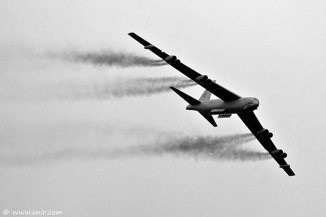 USAF B-52H Stratofortress RIAT 2009