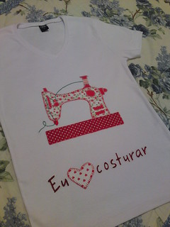Camiseta customizada...