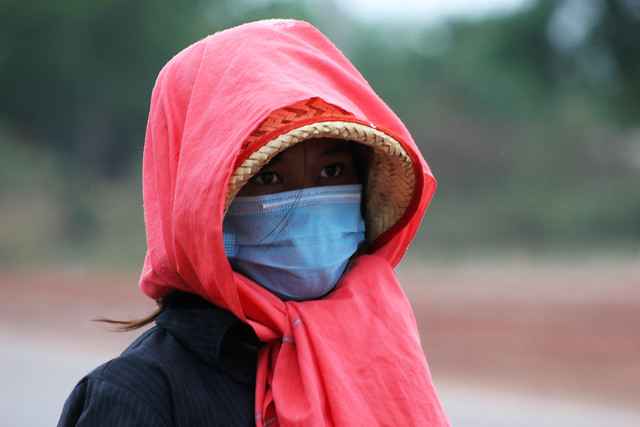 Protection against the pollution.