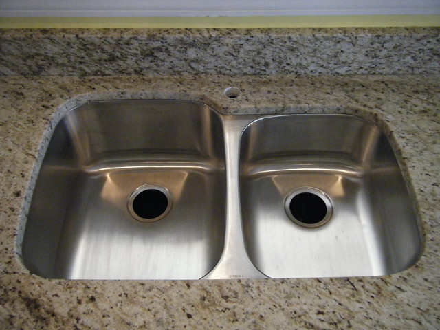 Granite Or Stainless Steel Sink : Stainless Steel Undermount Sink Flickr - Photo Sharing!