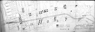 State Route 206 [Ashby Freeway] Berkeley Freeway Route Proposed for Study by the Berkeley City Planning Commission (1952)
