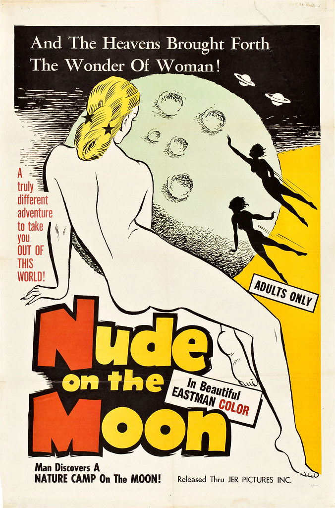 1961 ... Nude on the Moon
