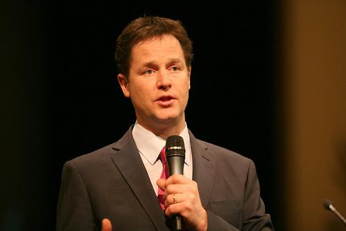Nick Clegg energy-efficiency targets
