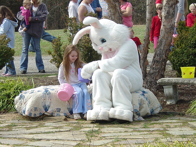 Some parks offer egg hunts and other special events for Easter