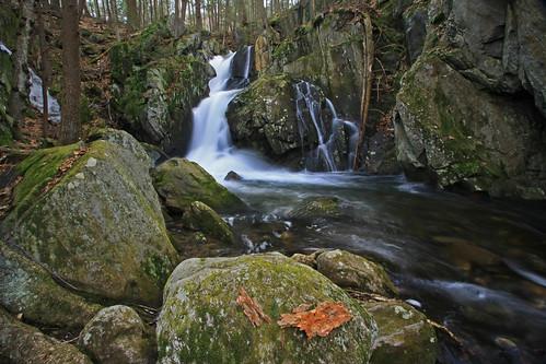 waterfall spring massachusetts goldminebrook chesterhuntington