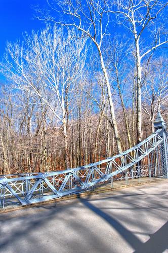 bridge ohio tree silver geotagged nikon raw nef historicpreservation millcreekpark silverbridge tonemapped photomatixpro youngstownohio d3s nikkor1424f28 nikongp1 mahoningcountyohio cinderellabridge ironlinkbridge