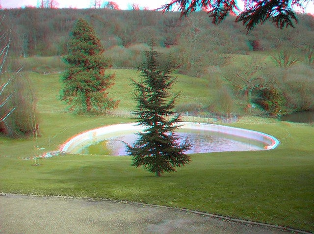 Sir Winston Churchills Swimming Pool At Chartwell In 3d Flickr Photo Sharing