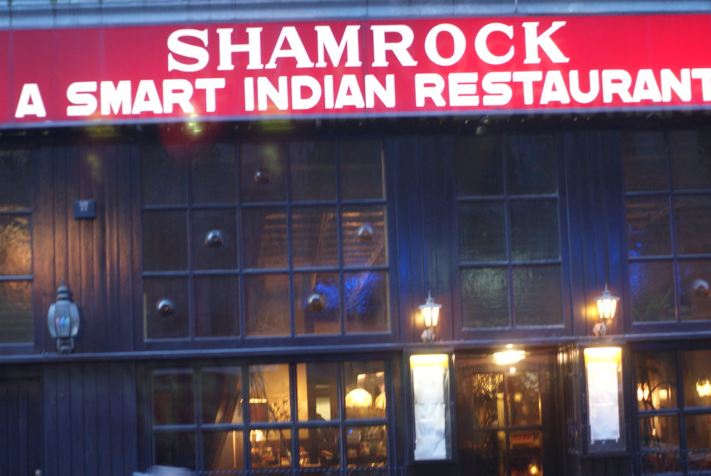 A smart Indian restaurant with an Orish name | Mark | Flickr