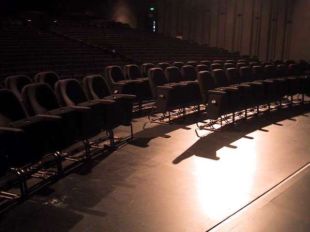 Canberra Theatre: view from the stage