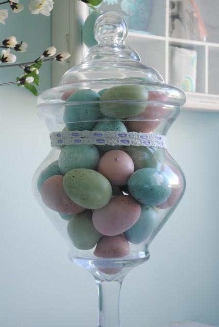 Jar of eggs
