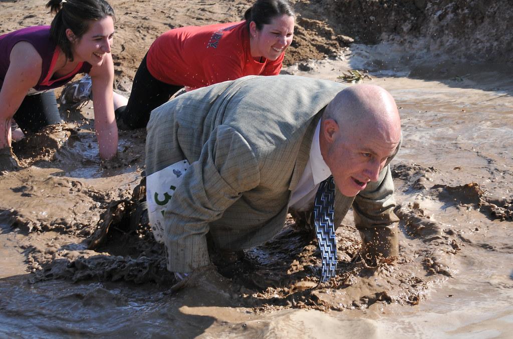 JPO2 at first mud pit crawl