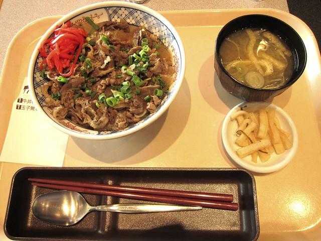 Beef bowl, Narita