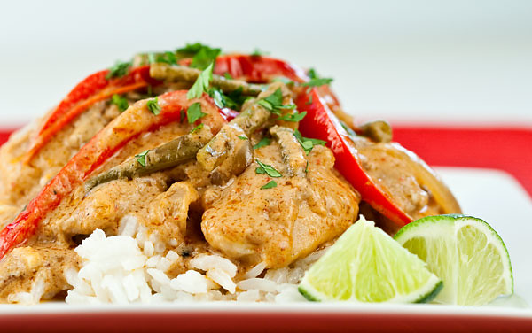 Chicken with Peanut Curry Sauce | Flickr - Photo Sharing!