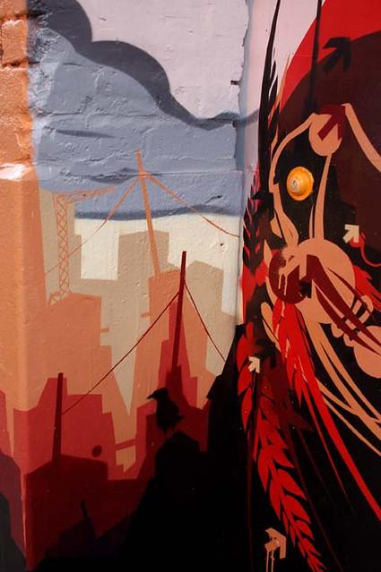 45W mural (detail)