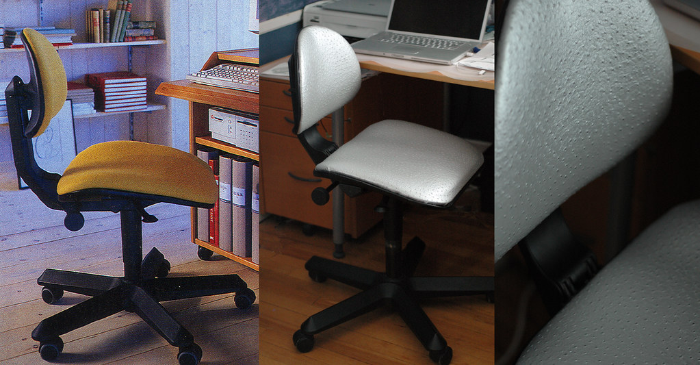 Cool IKEA Procent Office Chair Before and After