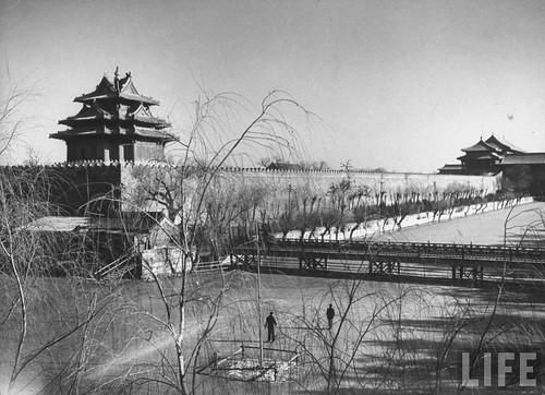 【图】1946年的故宫西南角楼