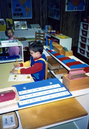 Chitwood Montessori Homeschool Classroom, 1991