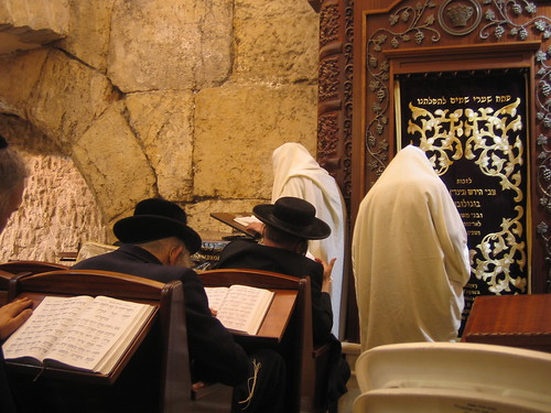 The synagogue in the Western Wall tunnels
