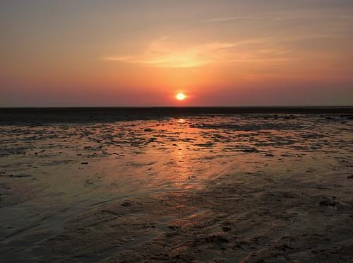 Sunset On Beach 7