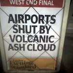 Airports Shut By Volcanic Ash Cloud