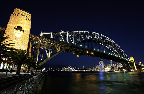 Sydney Harbour Bridge @ Night