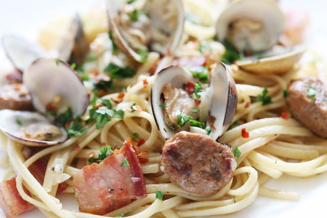 IMG_6594 pasta clams chorizo pancetta | Explore jlaceda's ph ...