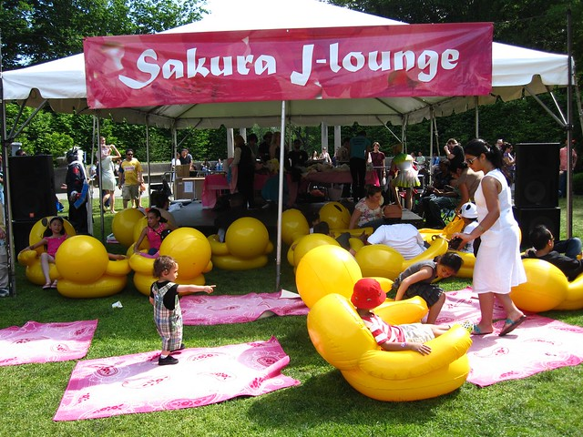 The Sakura J-lounge!