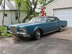 automobile, automotive exterior, lincoln mark series, vehicle, lincoln continental mark v, lincoln continental, sedan, land vehicle, luxury vehicle,