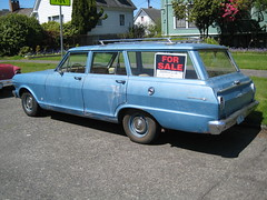 1963 Chevy II station wagon