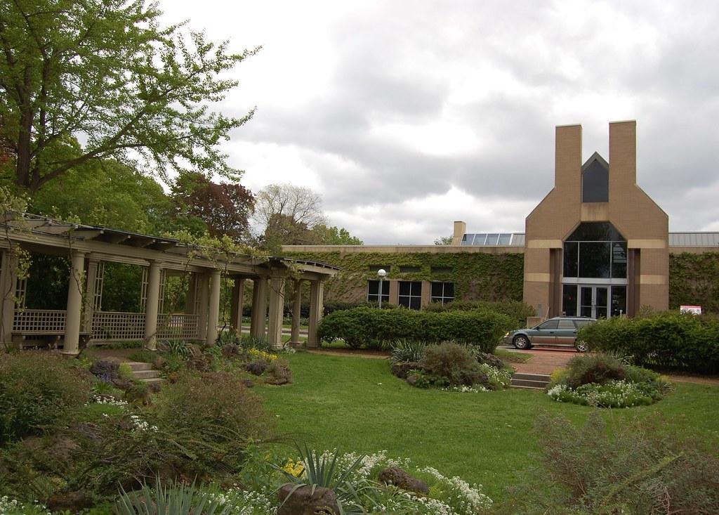 Eastman  House  -  Rock  Garden /  Back  Entrance