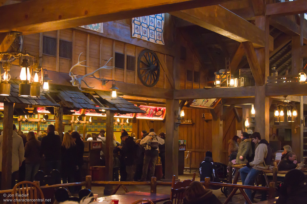 Cowboy Cookout Barbecue Ordering Area Disneyland Paris
