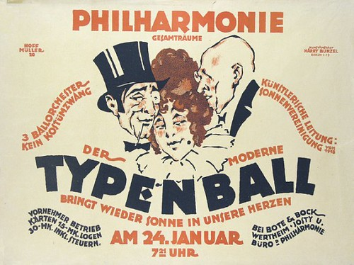 The modern Typenball (c.1920) by Susanlenox