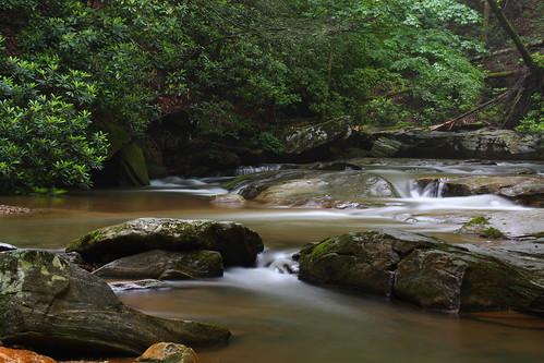 longexposure creek nc rocks stream northcarolina naturephotography polkcounty davidhopkinsphotography ncpedia