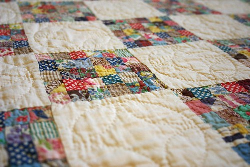 Heirloom Postage Stamp quilt