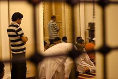 Praying in Bahrain